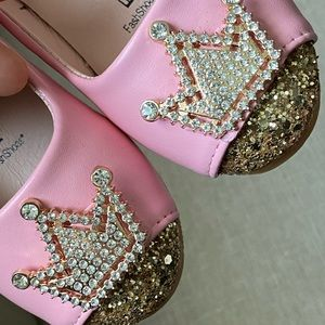 Other - Pink toddler shoes 👑✨💖